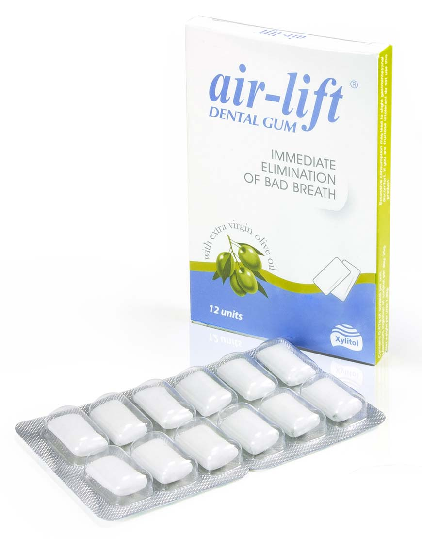 Airlift Bad Breath Eliminating Dental Gum