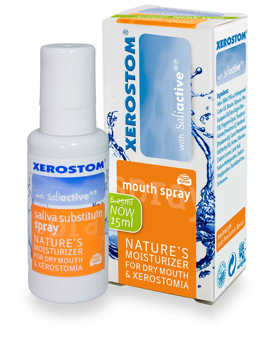 Xerostom Spray for Dry Mouth and Xerostomia